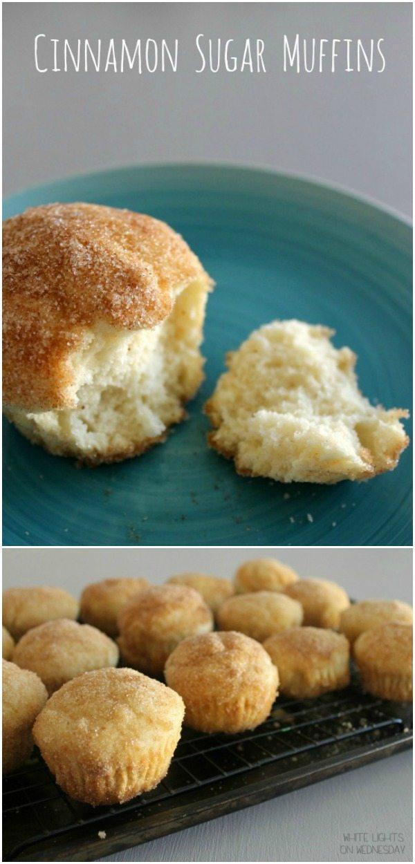 Cinnamon Sugar Muffins