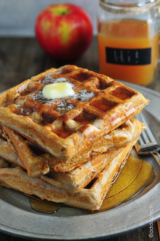 apple-cider-waffles