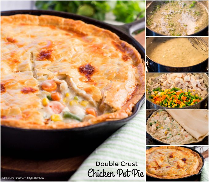 Double Crust Chicken Pot Pie Melissassouthernstylekitchen