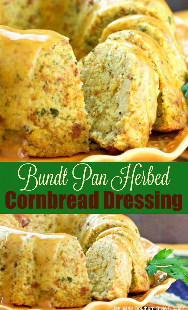 Bundt Pan Herbed Corn Bread Dressing