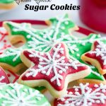 Cutout Cream Cheese Sugar Cookies