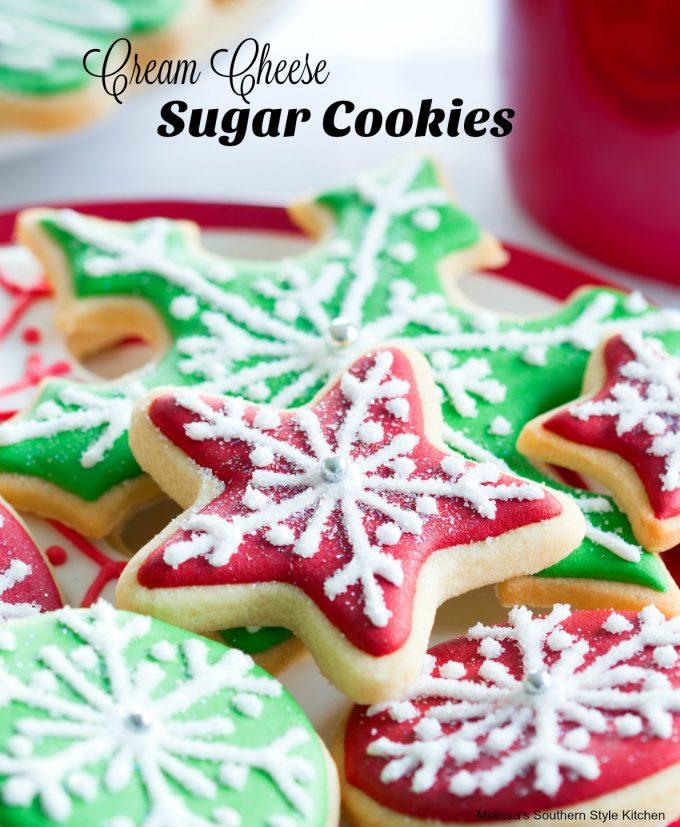 Cutout Cream Cheese Sugar Cookies