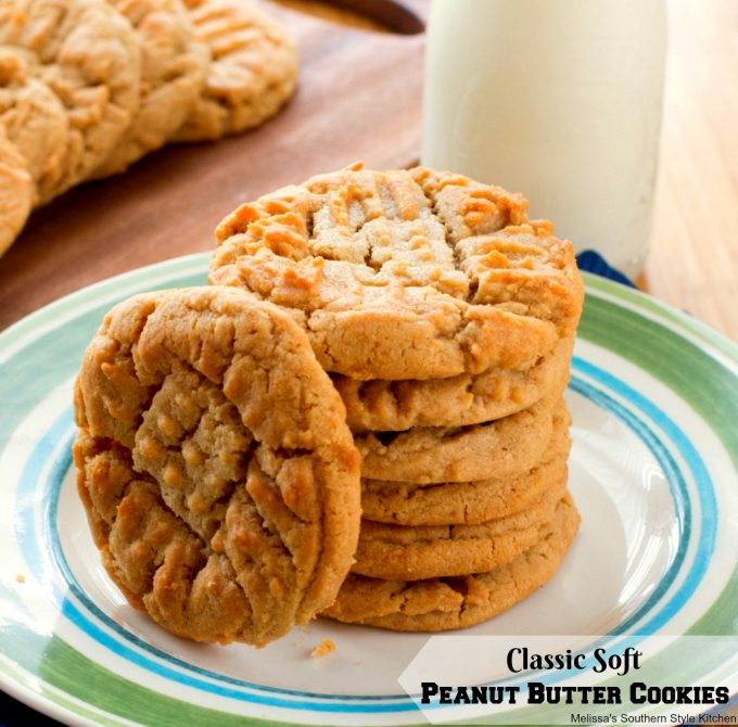 Classic Soft Peanut Butter Cookies