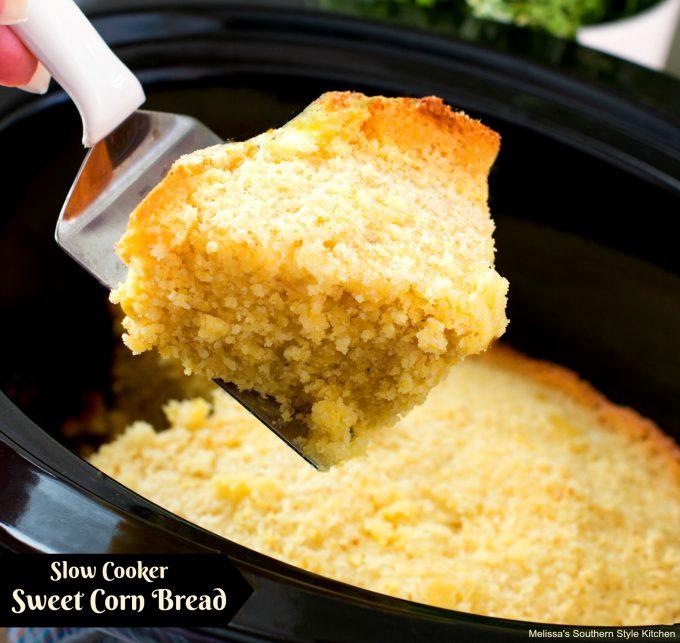 Slow Cooker Sweet Corn Bread