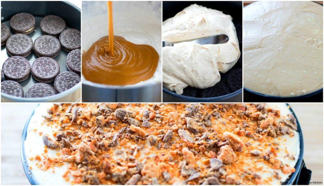 No-Bake Chocolate Peanut Butter Refrigerator Cake