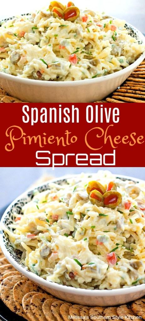 Spanish Olive Pimiento Cheese Spread