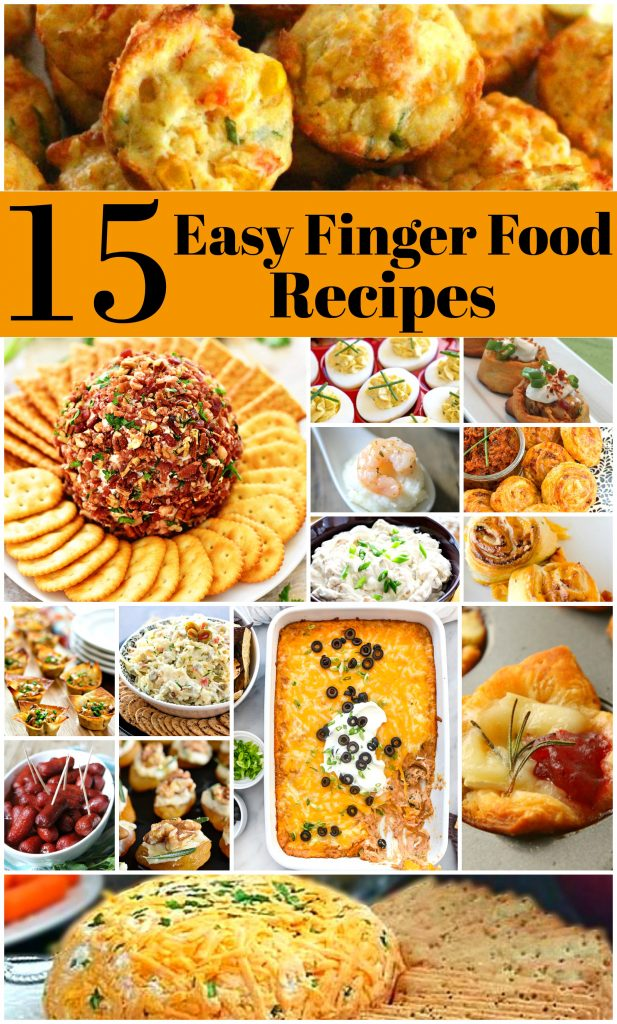 15 Easy To Make Finger Foods Melissassouthernstylekitchen Com