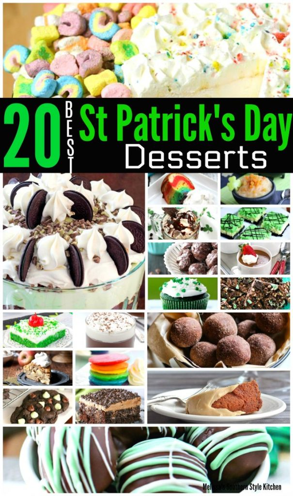 20 Best St Patrick's Day Desserts