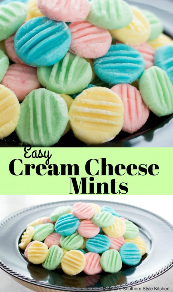 Easy Cream Cheese Mints