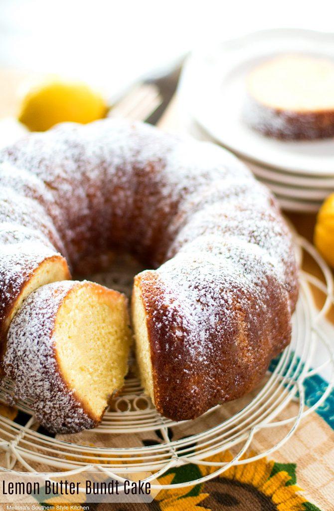 Lemon Butter Bundt Cake