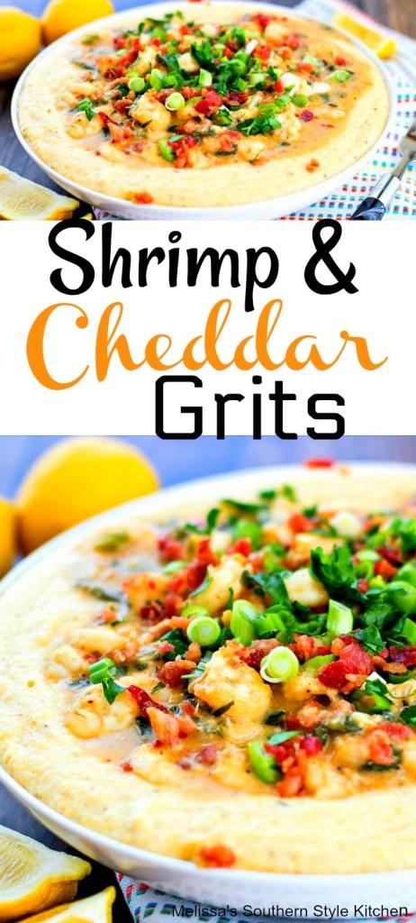 Shrimp and Cheddar Grits