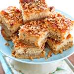 Butter Pecan Cheesecake Bars