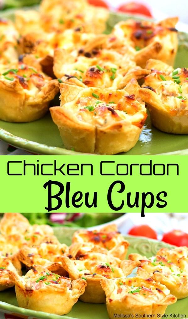 Chicken Cordon Bleu Cups