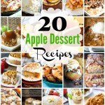 20 Juicy Apple Dessert Recipes That Aren't Pie