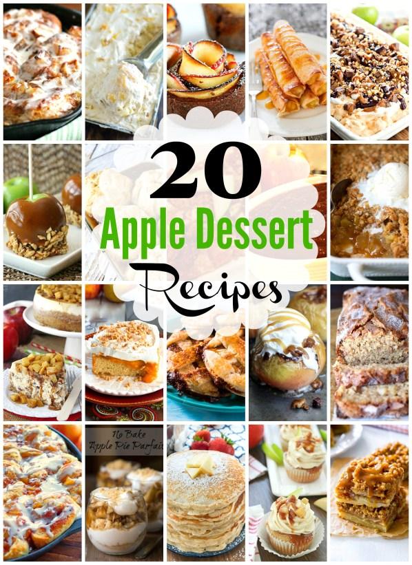 20 Juicy Apple Dessert Recipes That Aren't Pie