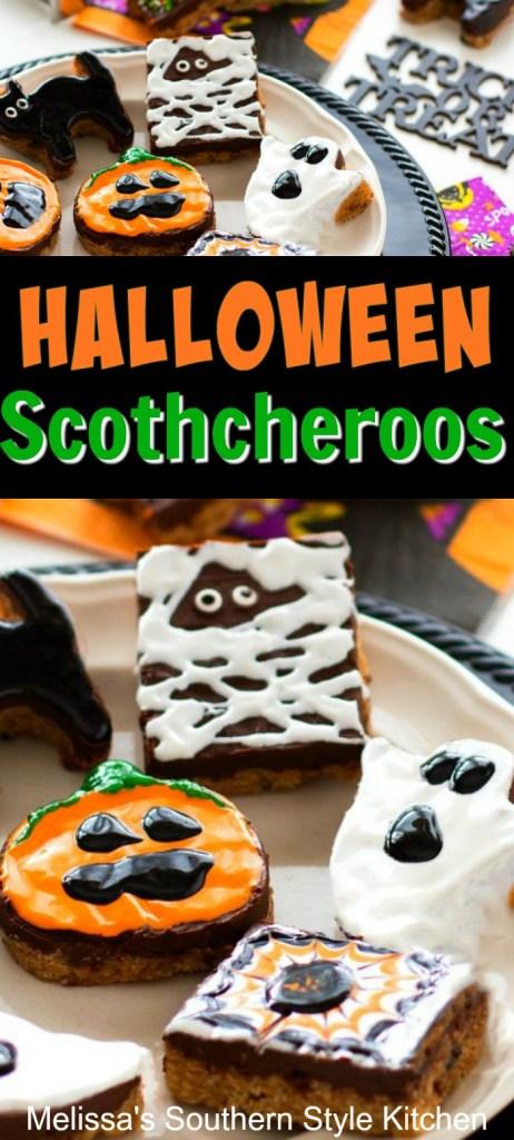 Halloween Scotcheroos