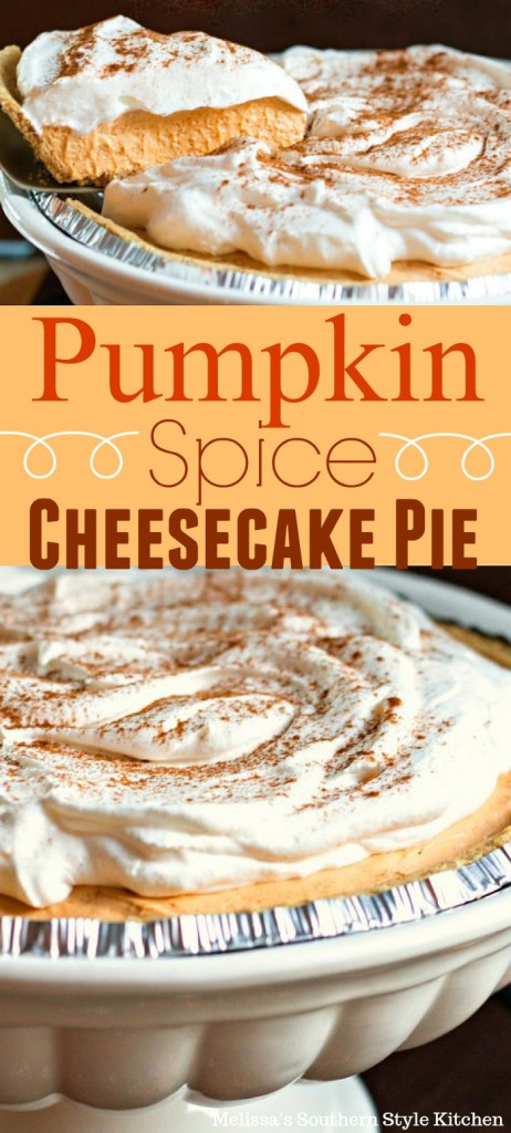 No-Bake Pumpkin Spice Cheesecake Pie