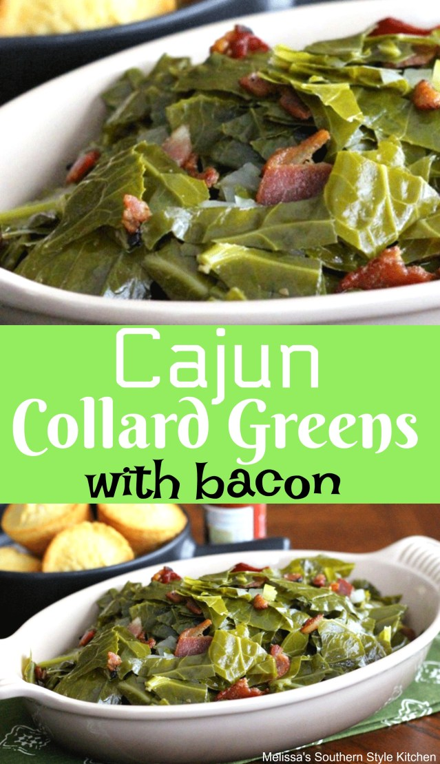 Cajun Collard Greens With Bacon