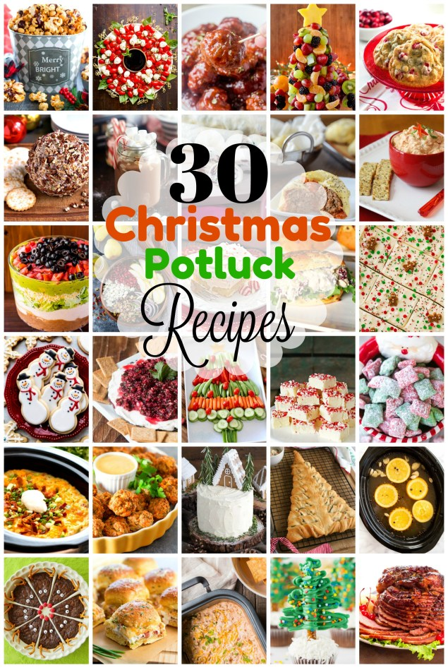 30 Festive Dishes To Take To a Christmas Potluck