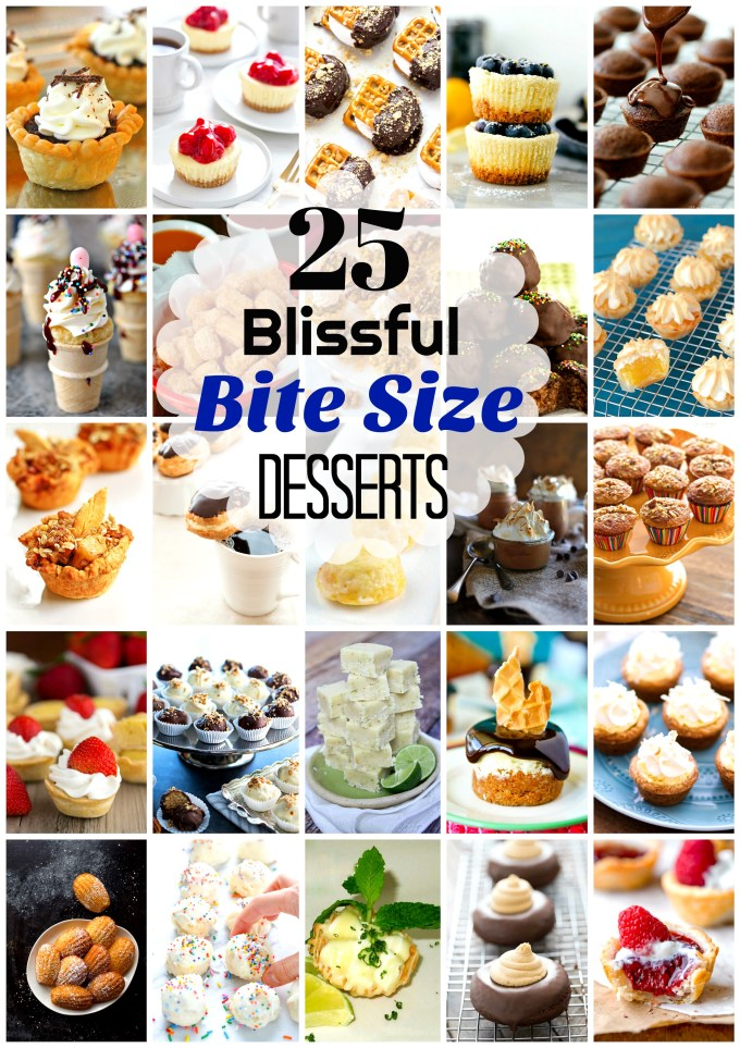 25 Blissful Bite-Size Desserts We Can't Get Enough Of