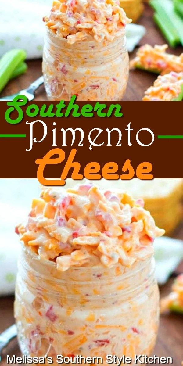 Southern Pimento Cheese for light meals and snacking #pimentocheese #cheese #pimentos #cheesy #appetizer #snacks #pimientocheese #southernpimentocheese #southernfood #southernrecipes