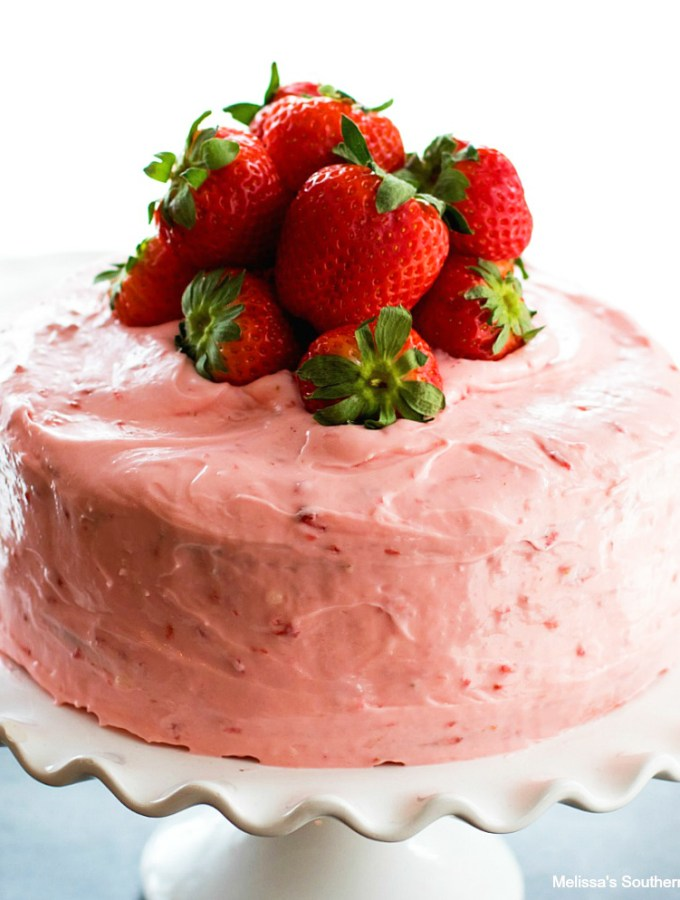 Easy Strawberry Layer Cake