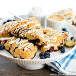 Blueberry Sour Cream Scones