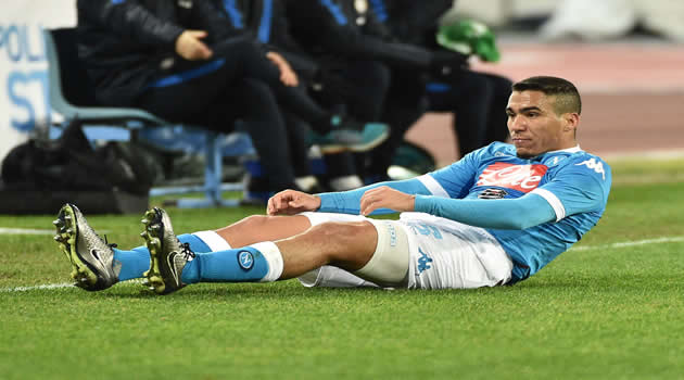 Coppa Italia - Napoli vs Inter - Allan 1