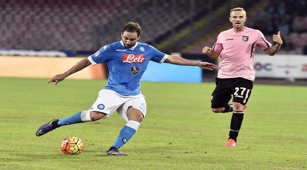 Gonzalo Higuain - Napoli vs Palermo 28/10/2015