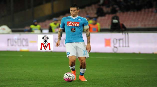 Napoli vs Chievo - Hamsik