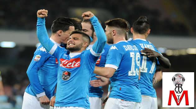Napoli vs Chievo - esultanza al gol di Higuain