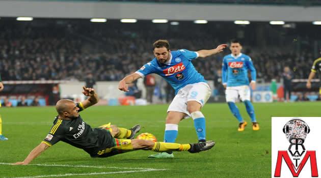 Napoli vs Milan - Higuain