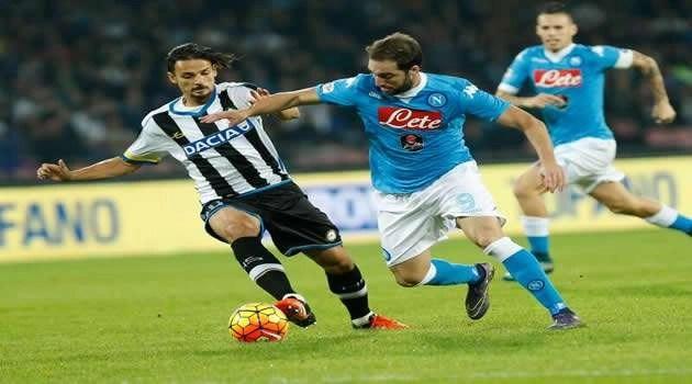 Napoli vs Udinese Higuain