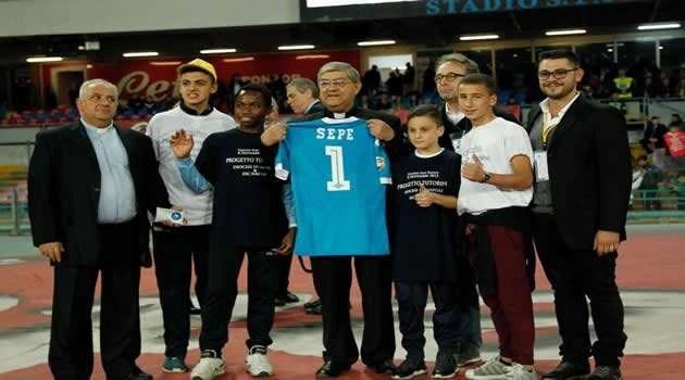 Napoli vs Udinese, il Cardinale Sepe