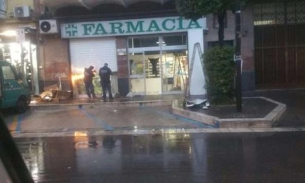 MELITO, FURTO IN UNA FARMACIA DI VIA ROMA