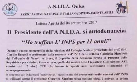ANIDA, il presidente Sannino si autodenuncia