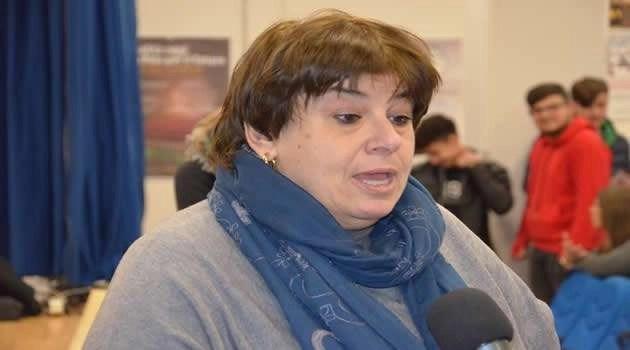 ASGAM integrare diversità in barca la dirigente del V. Veneto prof.ssaPasolini