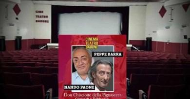 Melito - teatro Barone Peppe Barra Nando Paone