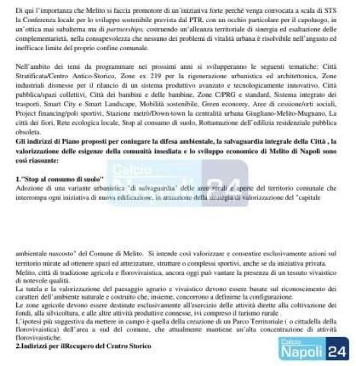 """Nuovo stadio del Napoli a Melito, il consigliere dell'opposizione Caiazza """"#Facciamo Chiarezza"""""""
