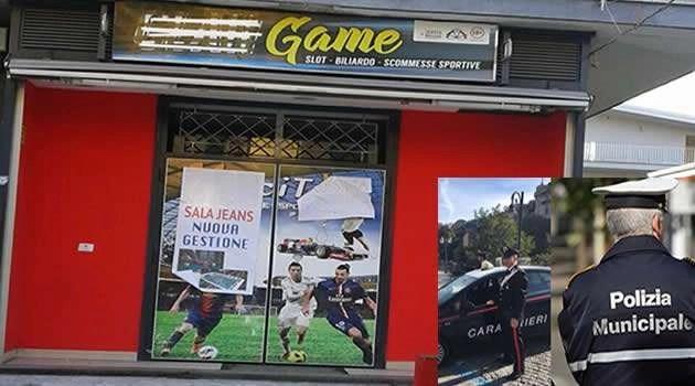 """Sant'Antimo, chiusa sala giochi denominata """"Clan Games"""""""