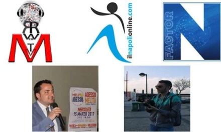 Tutto pronto per N Factor: ospiti il consigliere Caiazza ed il giornalista Cerrato