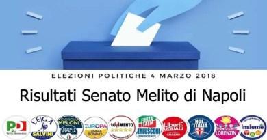 politiche marzo 2018 - risultati Senato Melito di Napoli