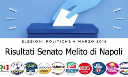 Elezioni politiche 4 marzo 2018: Senato, il voto a Melito