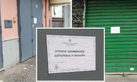 Melito: operazione della municipale, chiusi tre esercizi commerciali