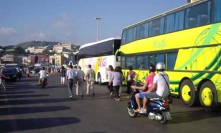 Pozzuoli: Bus turistici si spostano i parcheggi