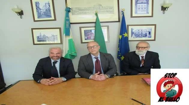 Calvizzano - stop bullismo- triade Prefettizia