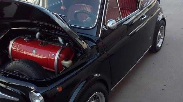 Fiat 500L del 1969 replica Abarth