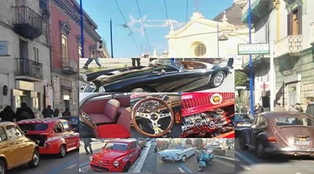 Raduno di veicoli storici a Melito: una kermesse per un tuffo nel passato