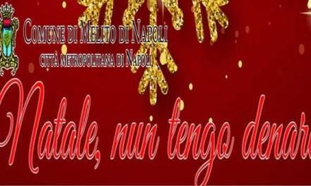 """""""Natale, nun tengo denare"""", a Melito il primo calendario  di eventi natalizi realizzati a costo zero dal Comune"""