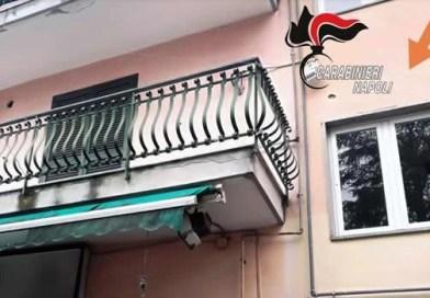 Melito - carabiniere eroe salva bimba - finestra